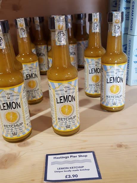 Hastings Pier shop - Lemon Ketchup